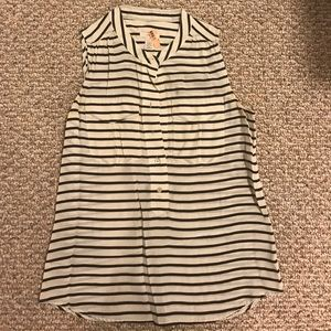 J Crew striped shirt - size 2