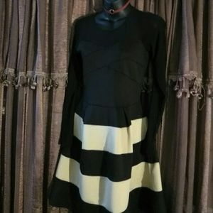 Sophisticated Striped Dress/Medium
