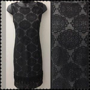 Sleeveless Black Dress by TAYLOR Sz 8