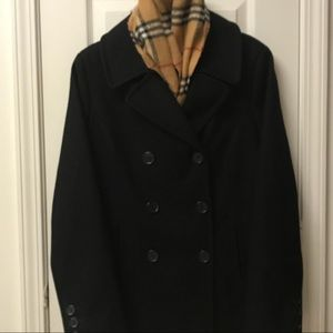 Tommy Hilfiger Pea Coat Scarf included.