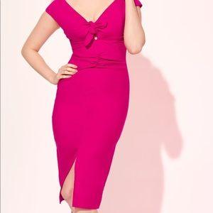 Pinupgirl Clothing Dixiefried Niagara Dress Pink