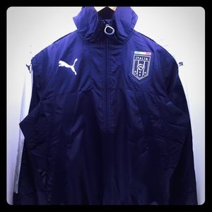 Men's Puma Italy FIGC Vent Thermo Jacket. TN16723