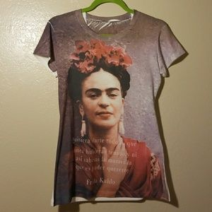 Frida Kahlo Print Shirt [New]