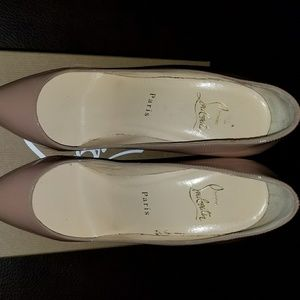 Christian Louboutin Pigalle Follies Nude Patent