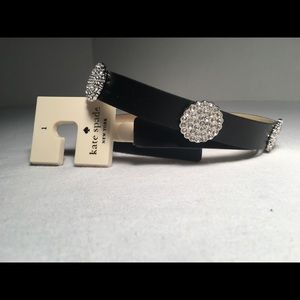 Beautiful rhinestone belt.
