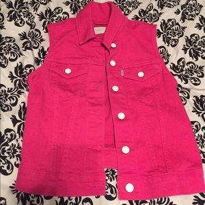 Pink Levi's Vest