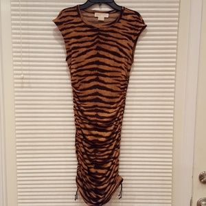 Michael Kors Bengal Print Sexy Dress
