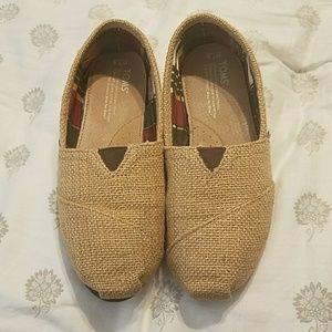 Women's TOM'S burlap shoes