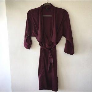 BCBGMaxAzria Trench Coat Dress