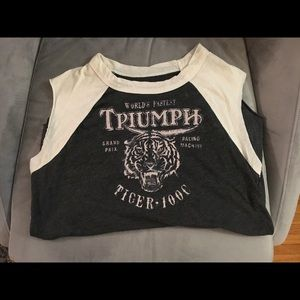 Super soft Triumph tee