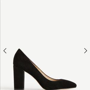 Ann Taylor Black Emeline Size 8.5 Heel Pump