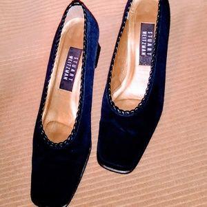 Vintage Stuart Weitzman Navy Blue Heels
