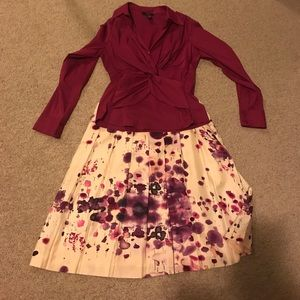 Beautiful skirt and top set