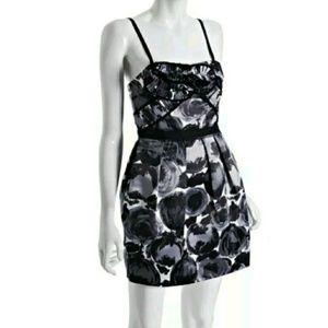 BCBG MAX AZRIA Floral Coctail Dress