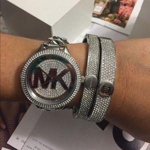 Brand New Michael Kors MK Silver Watch