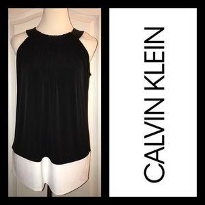 NEW Calvin Klein Black & White Top