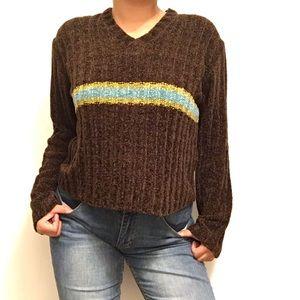 Retro style sweater