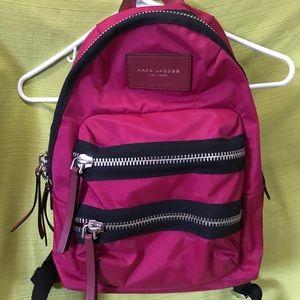 Marc Jacobs mini back pack. Raspberry color