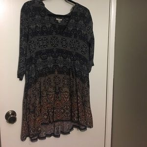 Urban Outfitters - Boho Printed Dress