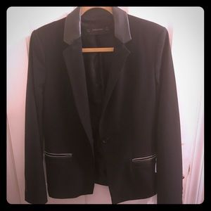 Zara black blazer - Large