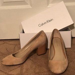 Calvin Klein Nude 1in Heels