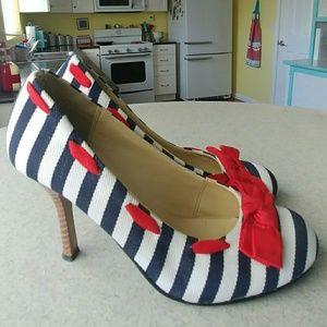 Pinup Nautical Sailor Heels