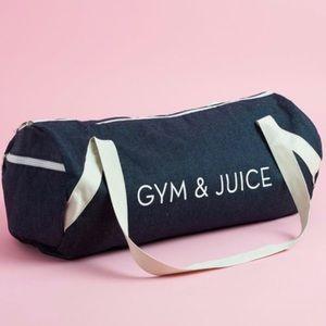 FatFibFun Private Party Gym & Juice Gym Bag