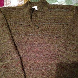 Fuzzy warm sweater