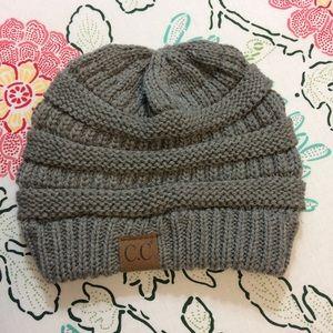 CC Knit Beanie Cap