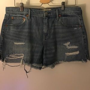 Girlfriend Jean shorts
