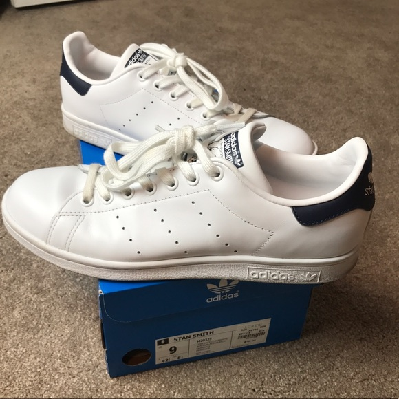 3af17a29f2fd4 8c089 85c28  amazon authentic stan smith blue j crew size 9 new 9809c d86c4