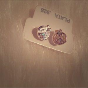 Jewelry - Caterpillar earrings