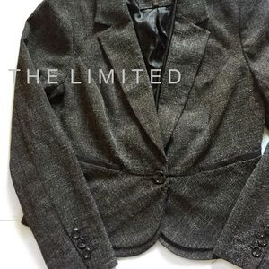 The Limited • Tweed One Button Blazer • Sz L/8-10