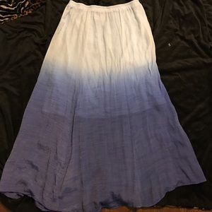 Maxi skirt size large
