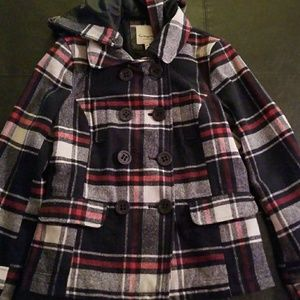 Forever 21 Heritage 1981 Wool Pea Coat