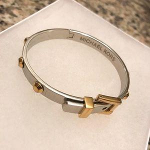 Gold and Silver Michael Kors Bracelet