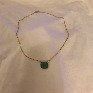Argento Vivian gold & turquoise necklace