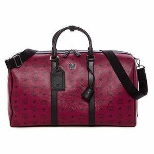 MCM LEATHER WEEKENDER BAG travel bag- brand new!!