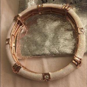 Bysimon italian brand white bracelet