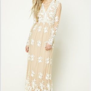 Forever 21 lace maxi