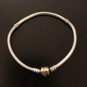 pandora 14k gold bracelet