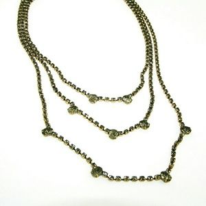 J. Crew Rhinestone Necklace