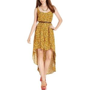 BCBGeneration Hi-Lo Printed Dress