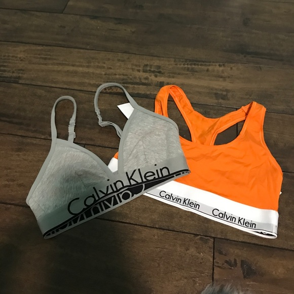 6aebeda32b Brand new with tags two Calvin Klein sports bras