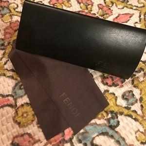 FENDI sunglasses case
