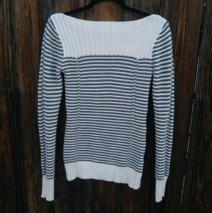 Old Navy Striped Boatneck Sweater