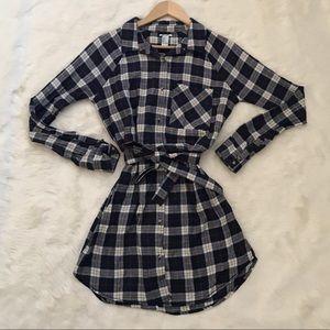 Long dress flannel