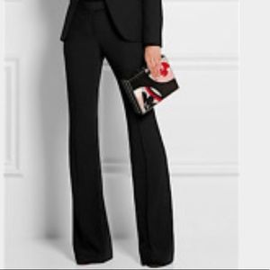 BCBGeneration Satin Bootcut Flare Dress Pants