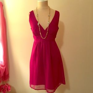 Sexy fuchsia Forever 21 (?) party dress