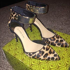 Cheetah print heels
